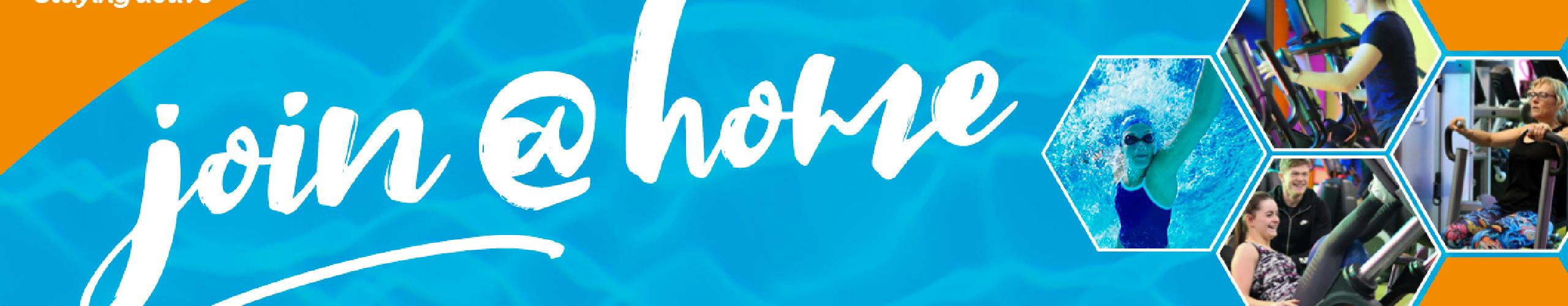 join at home background banner